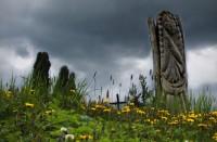 Na cintoríne © Eva Kecseyová
