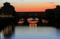 © Eva Kecseyová - Ponte Vecchio vo večernom šate