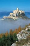 Spissky hrad z Drevenika obraz 75x50